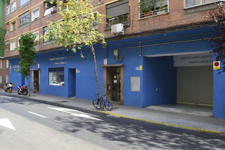 Fachada trasteros Cubbe Las Fuentes Zaragoza