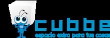 Logo de Cubbe espacio extra para tus cosas
